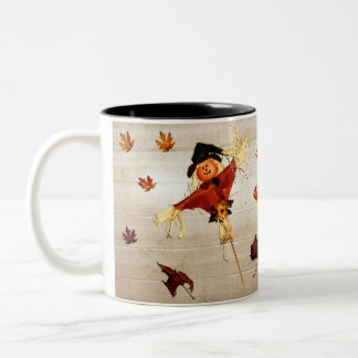 Thanksgiving Wishes Two-Tone Coffee Mug