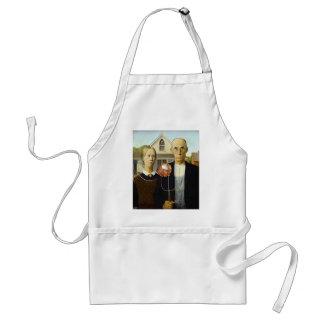 Thanksgivukkah Art: American Latke (apron) Standard Apron