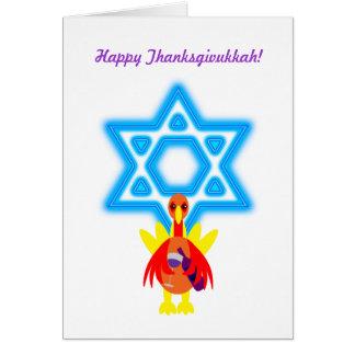 Thanksgivukkah Funny Turkey w Wine Invitations