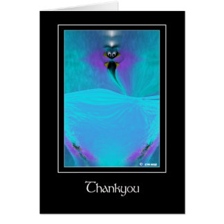 Thankyou Creature Consciousness Greeting Card