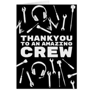 Thankyou Crew Card