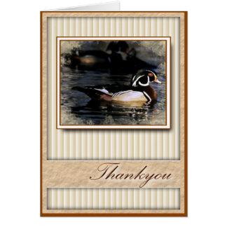 Thankyou Duck Greeting Card