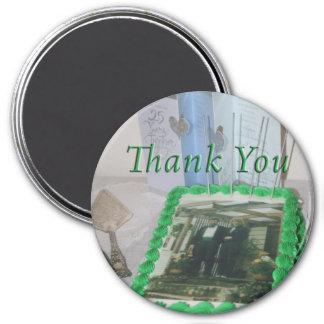 Thankyou Flair 7.5 Cm Round Magnet