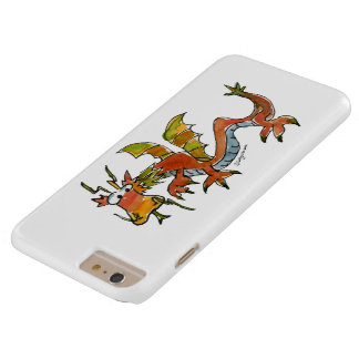 Thar Be Dragons Barely There iPhone 6 Plus Case