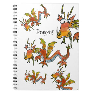 Thar Be Dragons Notebook