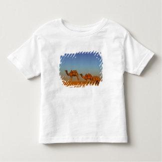 Thar desert, Rajasthan India. Camels along the Toddler T-Shirt
