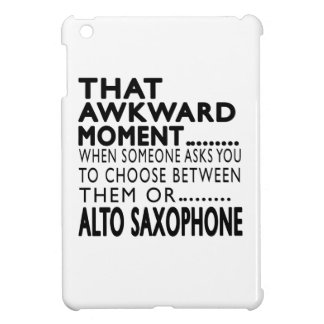 That Awkward Moment Alto Saxophone Designs Cover For The iPad Mini
