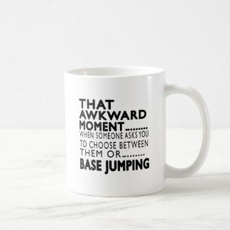That Awkward Moment Base Jumping Designs Basic White Mug