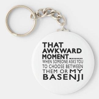 That Awkward Moment Basenji Key Chain
