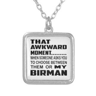That awkward moment Birman. Square Pendant Necklace