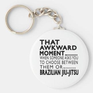That Awkward Moment Brazilian Jiu-Jitsu Designs Basic Round Button Key Ring