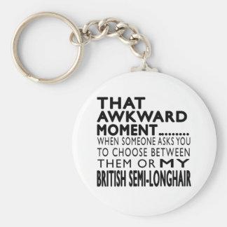 That Awkward Moment British semi-longhair Designs Keychains