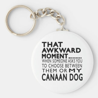 That Awkward Moment Canaan Dog Keychain