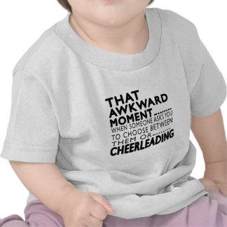 That Awkward Moment Cheerleading Designs Tshirts