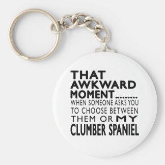 That Awkward Moment Clumber Spaniel Key Chain
