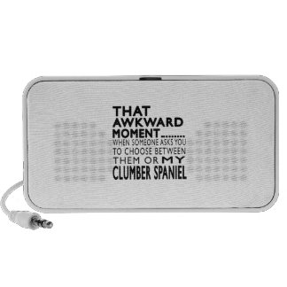 That Awkward Moment Clumber Spaniel Speaker System