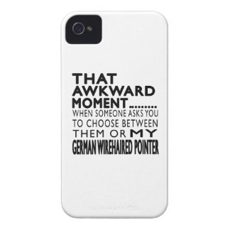 That Awkward Moment German Wirehaired Pointer Case-Mate iPhone 4 Cases