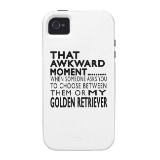 That Awkward Moment Golden Retriever Vibe iPhone 4 Cases