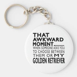 That Awkward Moment Golden Retriever Key Chains