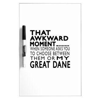 That Awkward Moment Great Dane Dry Erase Whiteboards