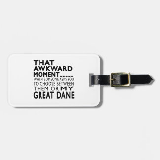 That Awkward Moment Great Dane Tag For Bags