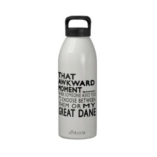 That Awkward Moment Great Dane Drinking Bottles