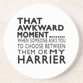 That Awkward Moment Harrier Beverage Coaster