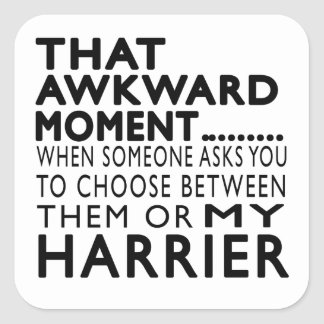 That Awkward Moment Harrier Stickers