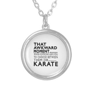 That Awkward Moment Karate Designs Custom Necklace