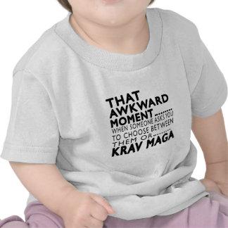 That Awkward Moment Krav Maga Designs T Shirt