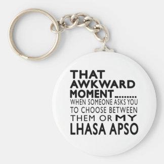 That Awkward Moment Lhasa Apso Keychain