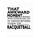 That Awkward Moment Racquetball Designs Post Card