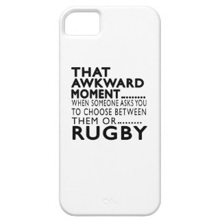 That Awkward Moment Rugby Designs iPhone 5 Case