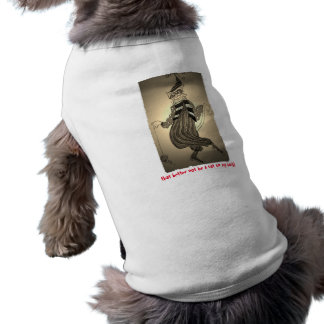 That Better Not Be a Cat on My Back Doggie Tank Sleeveless Dog Shirt