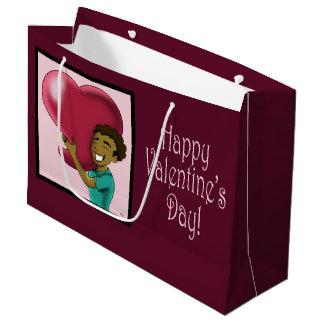 That Big Heart Valentine's Gift Bag - Large