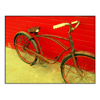 That Bike is a well loved piece of art Postcard