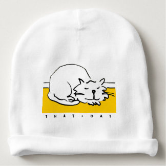 That Cat cartoon. Cat is sleeping. Baby Beanie