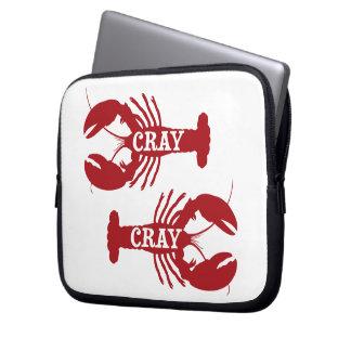That Cray Cray Crayfish Crustacean Laptop Sleeve