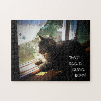 that dog is going down! Make your own Puzzles