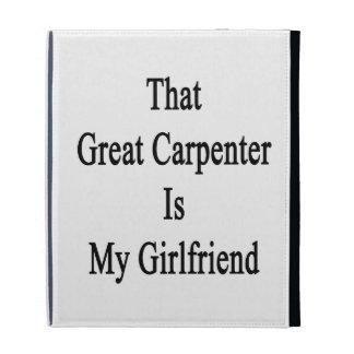 That Great Carpenter Is My Girlfriend iPad Folio Case
