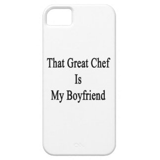 That Great Chef Is My Boyfriend iPhone 5 Case