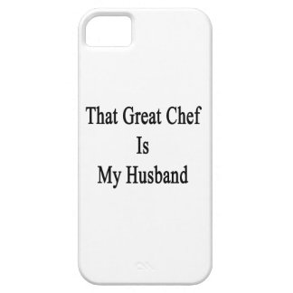 That Great Chef Is My Husband iPhone 5 Case