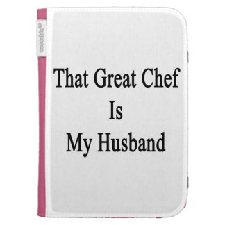 That Great Chef Is My Husband Kindle 3 Covers