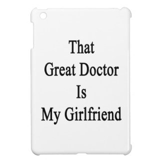 That Great Doctor Is My Girlfriend iPad Mini Cover