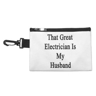 That Great Electrician Is My Husband Accessories Bags