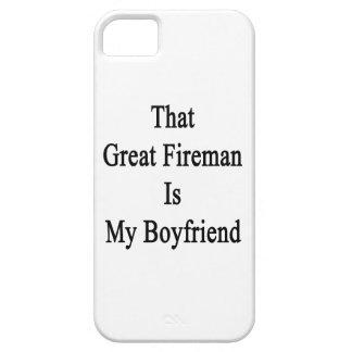 That Great Fireman Is My Boyfriend iPhone 5 Case