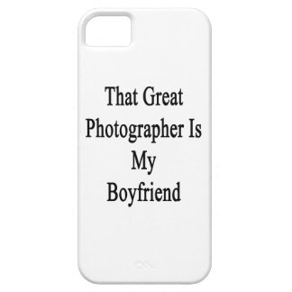 That Great Photographer Is My Boyfriend Cover For iPhone 5/5S