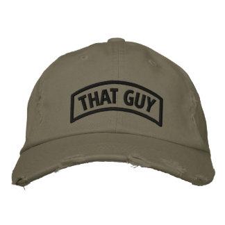 ":That Guy"" Custom Distressed Baseball Cap"