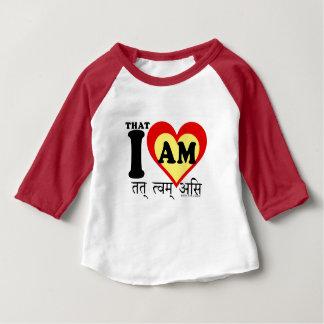 That I am, on sanscrit Baby T-Shirt