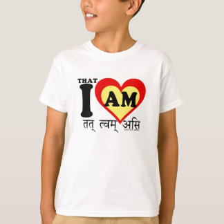 That I am, on sanscrit T-Shirt